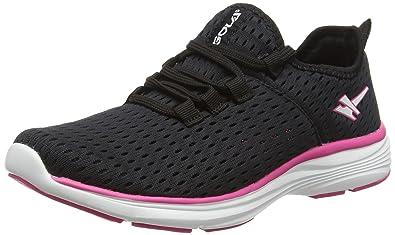 Termas 2, Zapatillas de Entrenamiento Mujer, Negro (Black/Pink), 38 EU Gola