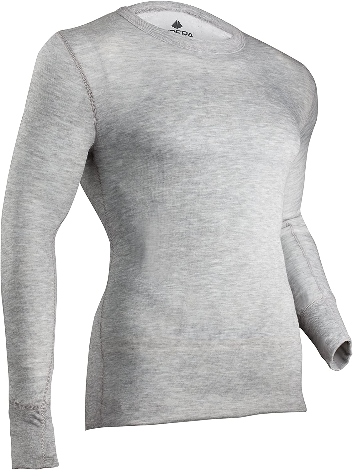 Indera Men's Two-Layer Performance Thermal Underwear Top with Silvadur