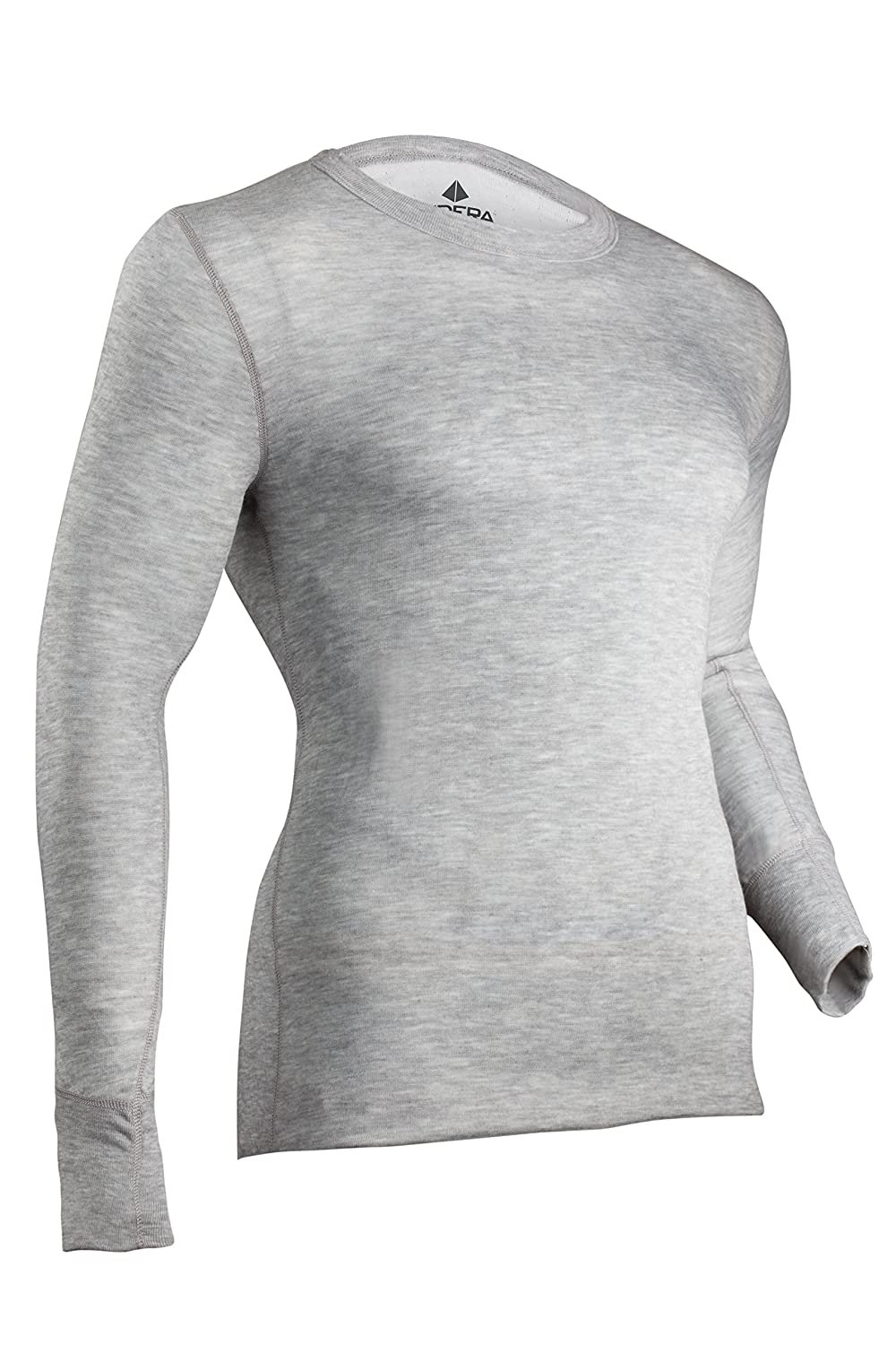 Indera Men's Tall Two-Layer Performance Thermal Underwear Top with Silvadur ColdPruf Baselayer