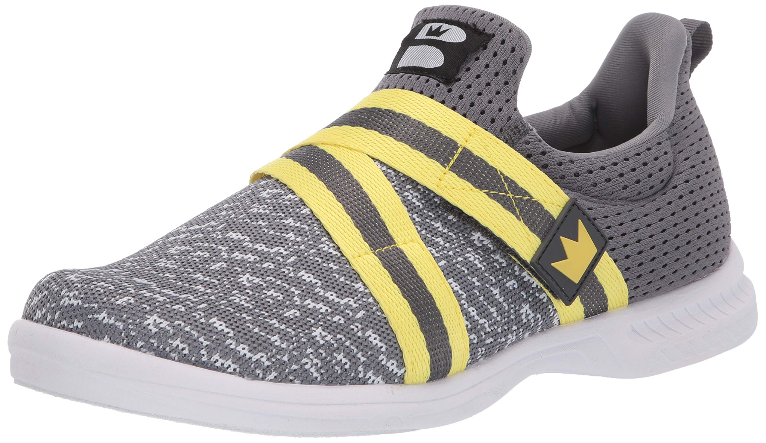 Brunswick Slingshot Grey/Yellow Mens Size 11 by Brunswick