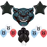 Black Panther Party Supplies Birthday Party Balloons Decoration