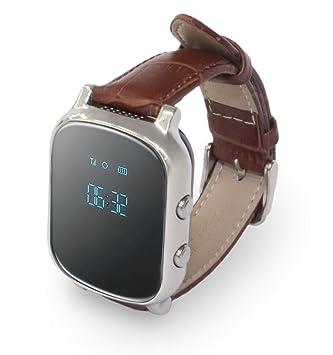 Nock Senior - Reloj localizador gps para alzheimer o personas mayores: Amazon.es: Electrónica