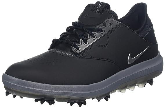 finest selection 39dcd d3a4d Nike Mens Golf Air Zoom Direct Shoes (8 D US, BlackMetallic Silver