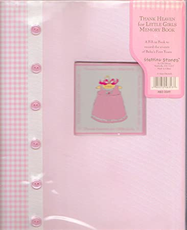 Personalized Bound Photo Journal Album Thank Heaven for Little Boys