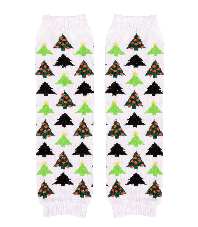 Simplicity Kids Winter Seasonal Patterned Stretchy Warm Arm//Leg Warmers