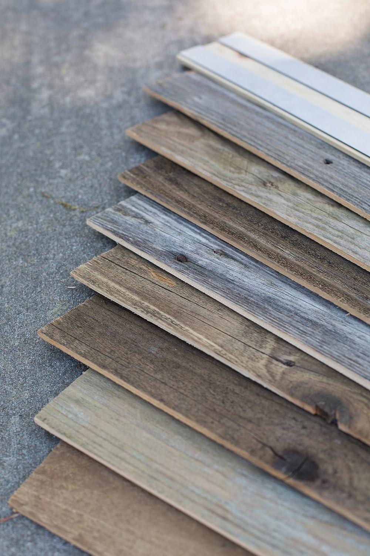 Epic Artifactory Diy Reclaimed Barn Wood Wall Easy Peel