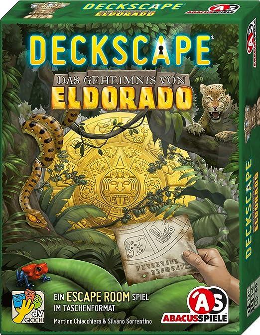 ABACUSSPIELE 38183 Deckscape - Juego de Cartas (en alemán): Chiacchiera, Martino, Sorrentino, Silvano: Amazon.es: Juguetes y juegos