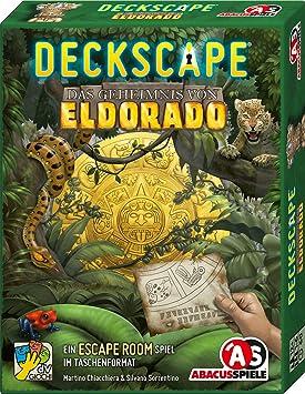 Abacusspiele 38183 - Juego de Cartas de El Secreto de Eldorado, Escape Room: Chiacchiera, Martino, Sorrentino, Silvano: Amazon.es: Juguetes y juegos