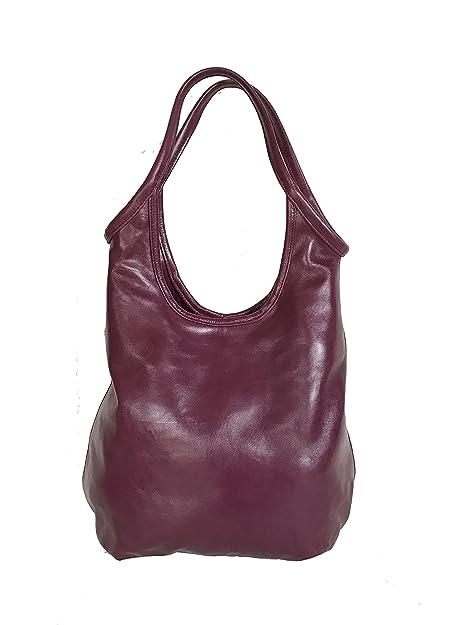 Amazon.com: fgalaze Coral Pink Leather bolsa Purse Rustico ...