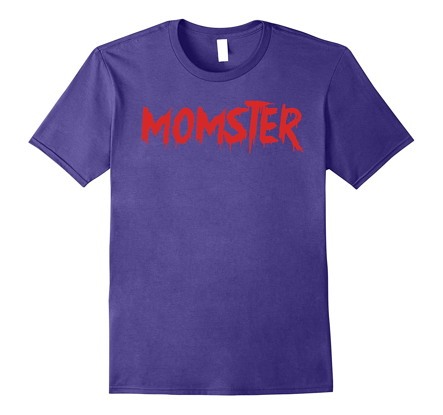 Momster Funny Halloween T-Shirt for Easy Mom Costume-TJ