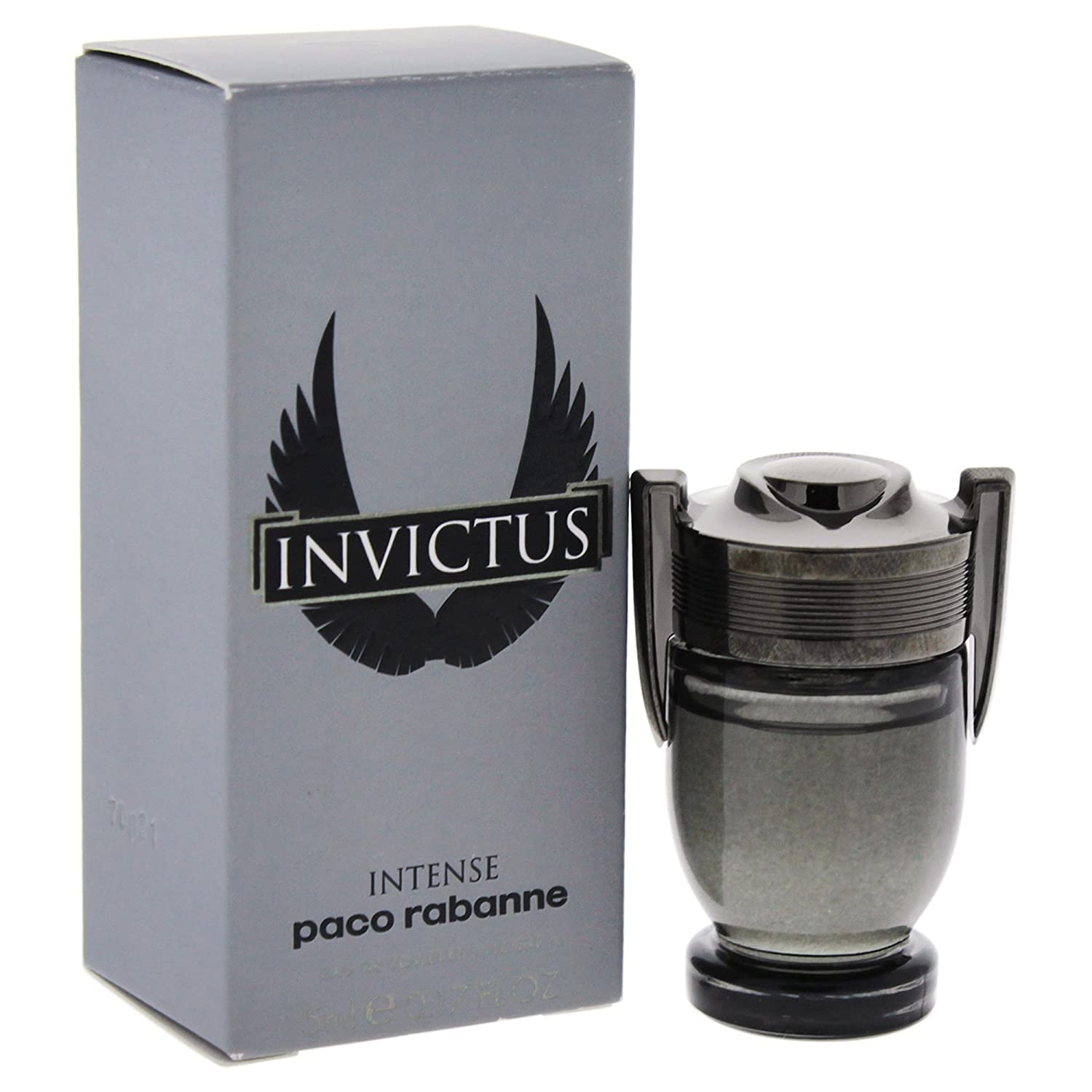 ed2ce367d Amazon.com   Paco Rabanne Invictus Intense for Men Eau de Toilette Mini  Splash