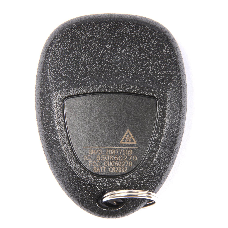 ACDelco 20877109 GM Original Equipment 5 Button Keyless Entry Remote Key Fob