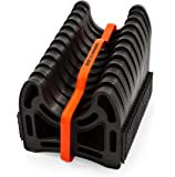 Camco 20ft (43051) Sidewinder RV Sewer Hose Support, Made From Sturdy Lightweight Plastic, Won't Creep Closed, Holds…