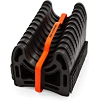 $27 Get Camco 20ft Sidewinder RV Sewer Hose Support, Made From Sturdy Lightweight Plastic, Won't…