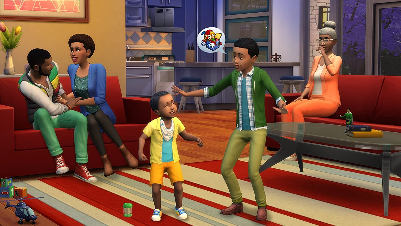 Sims Bambino Bagno : The sims 4 xbox one: electronic arts: amazon.it: videogiochi