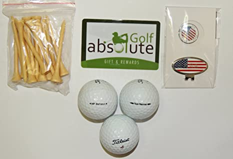 Amazon.com   36 Titleist Mix Grade B With Free Tee s   Magnetic ... 0501d06cd626