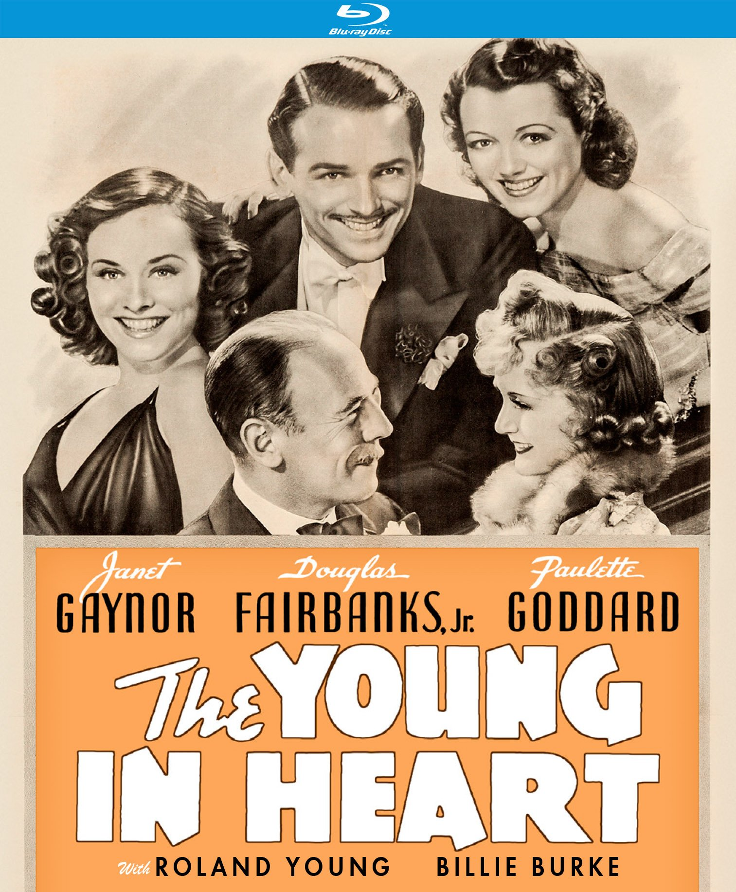Blu-ray : The Young In Heart (Blu-ray)