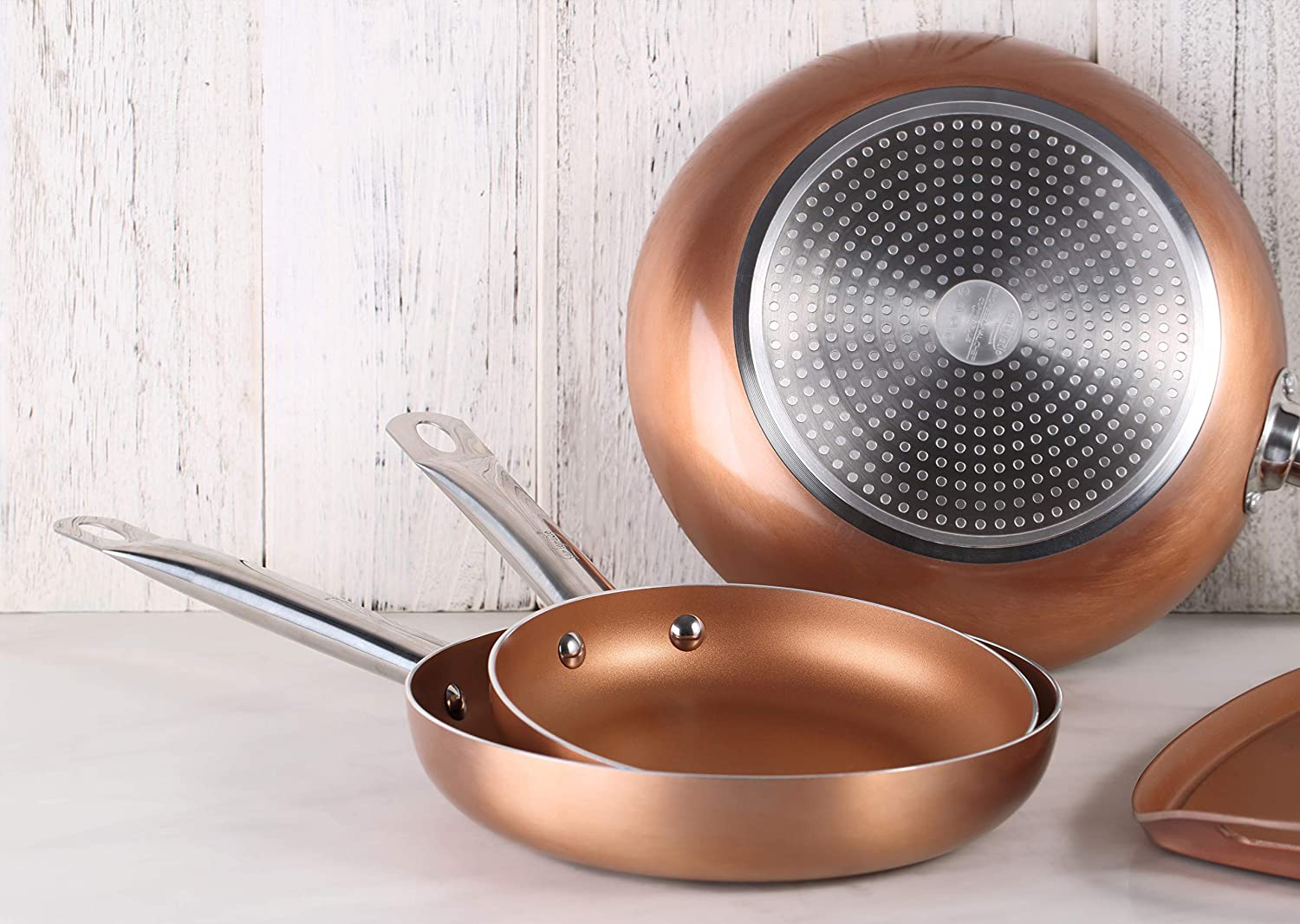 Amazon.com: San Ignacio PK1409 Professional Chef Copper Plus ...