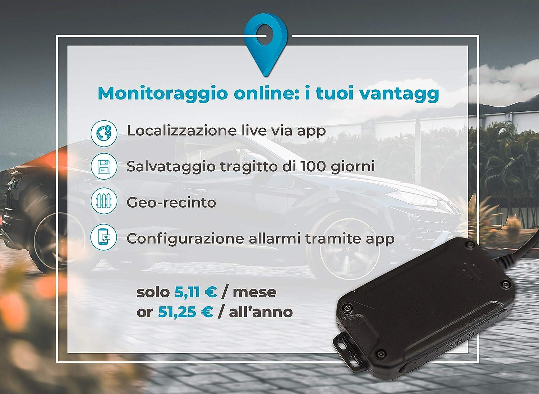 miniatura 6 - Salind GPS 01- Localizzatore GPS per auto, moto e veicoli con scheda SIM, app