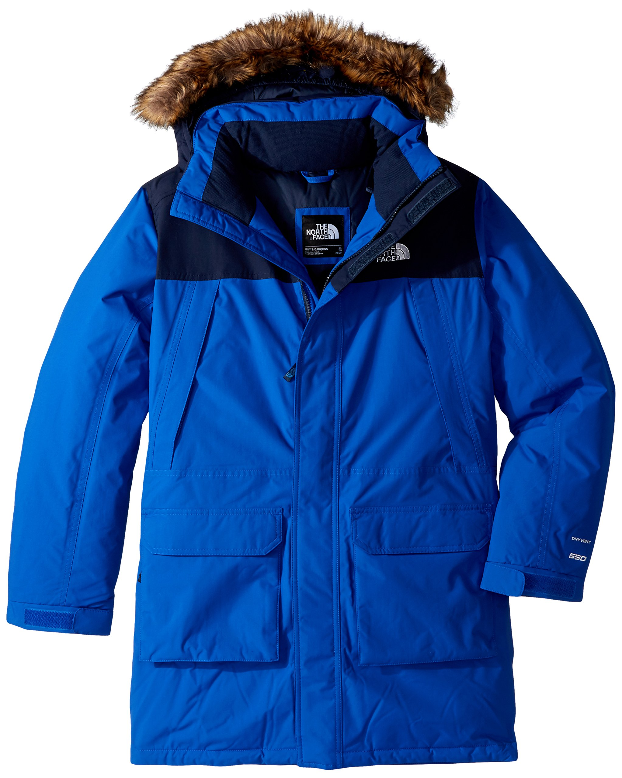 The North Face Big Boys' McMurdo Down Parka - bright cobalt blue, m/10-12 by The North Face