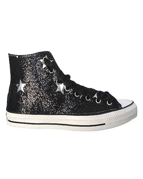 converse alte con stelle