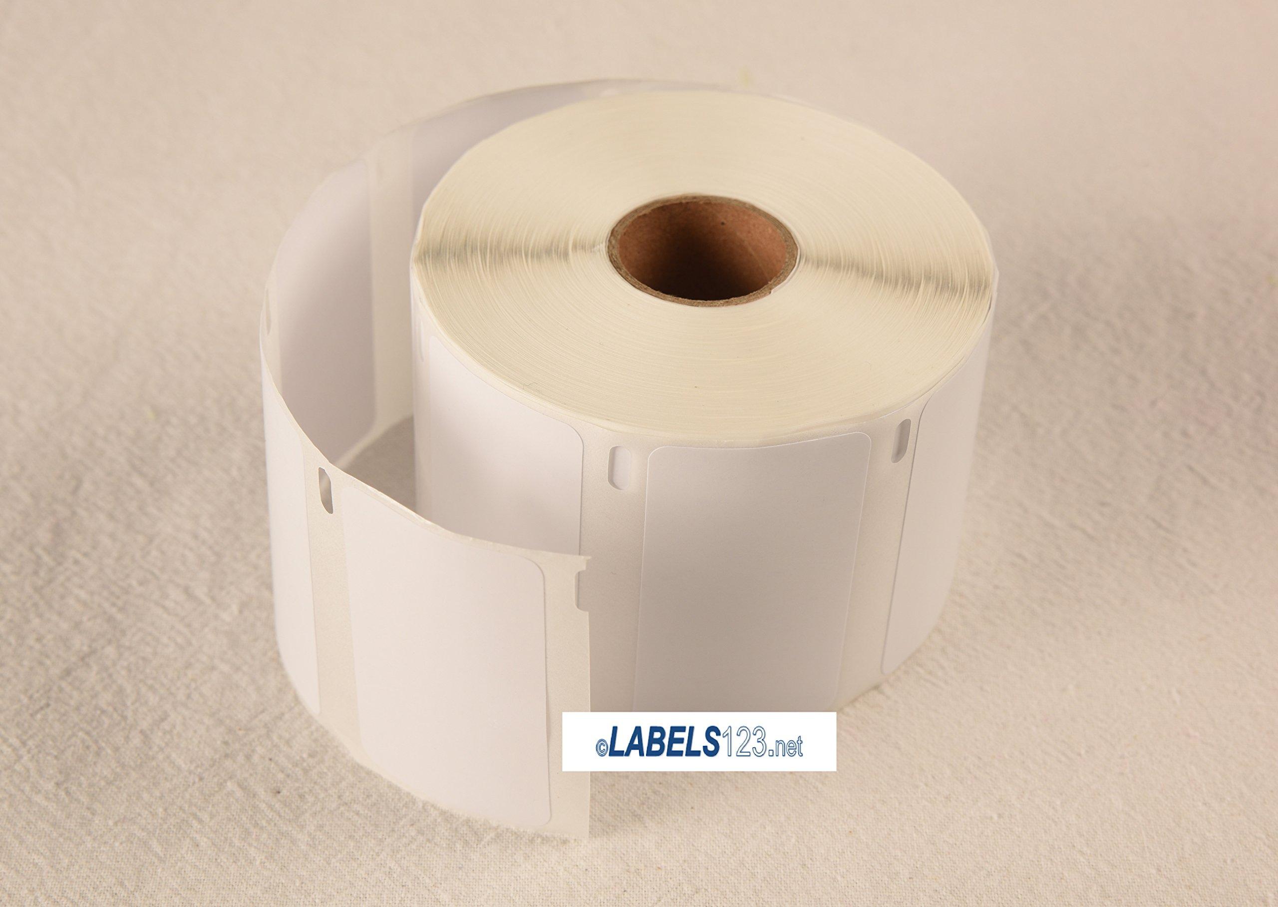 Dymo Compatible 30334 Medium Multipurpose Labels Thermal (2-1/4'' X 1-1/4'') - (5 Rolls; 1,000 Labels Per Roll)