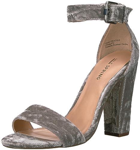 559584130 Call It Spring Women s Arther Dress Sandal Light Grey 6.5 ...