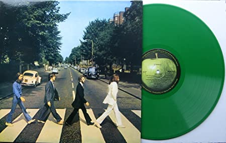 The Beatles Quot Abbey Road LIMITED GREEN Vinyl Australian Apple Pressing