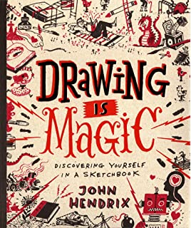 drawing is magic discovering yourself in a sketchbook