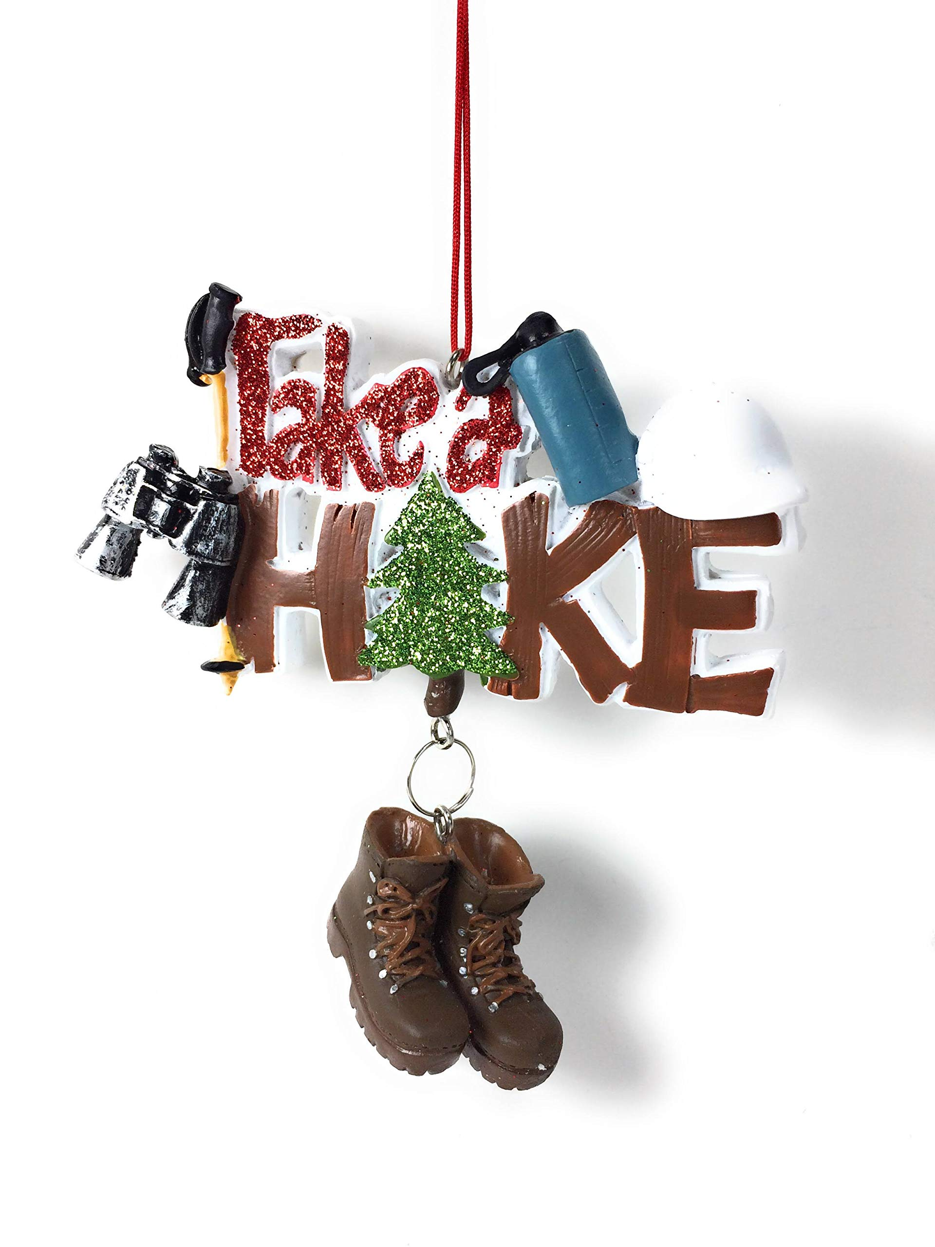 Midwest-CBK 4'' Take A Hike Christmas Ornament 150363