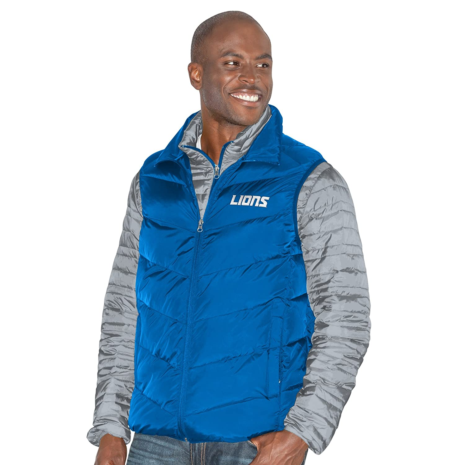 Gray//Royal 5X G-III Mens Three and Out 3-in-1 Systems Jacket