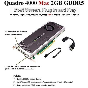 Amazon com: Epic IT Service - Quadro 4000 for Mac, for apple mac pro