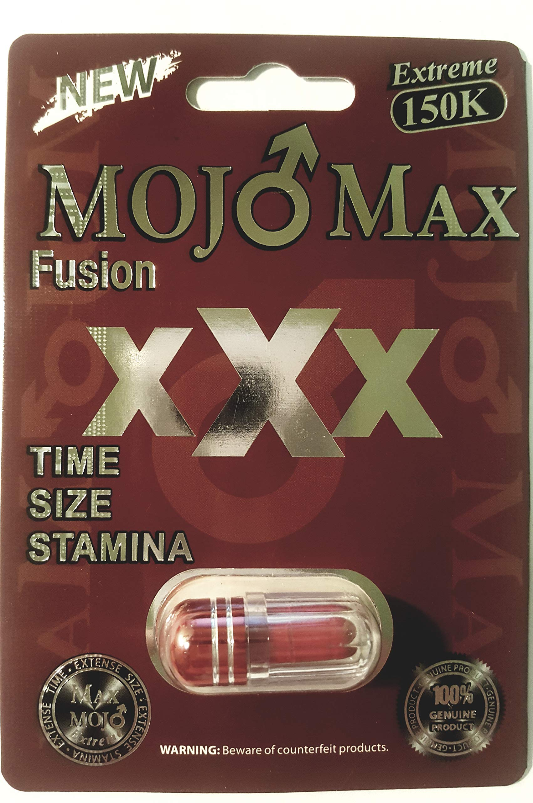 Mojo Fusion Max Box of 20 by MOJO FUSION MAX XXX