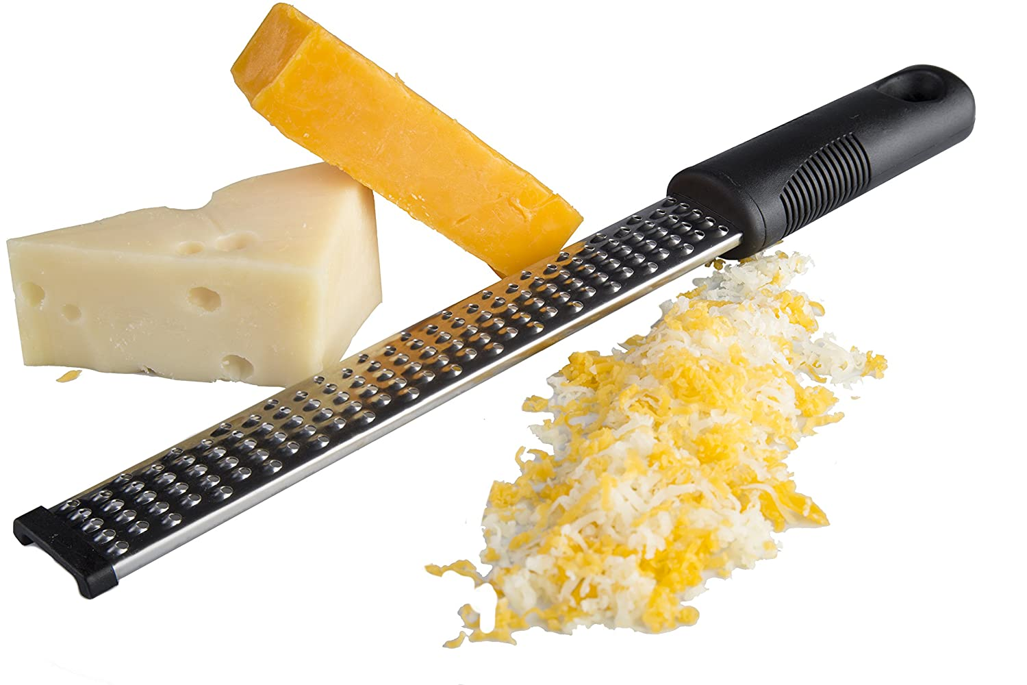 Premium Cheese Grater / Lemon Zester Razor Sharp. By Kitchen Winners S10001