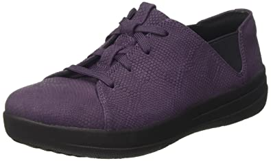 a5eb7a69f1fe96 Fitflop Women s F-Sporty Canvas Trainers  Amazon.co.uk  Shoes   Bags