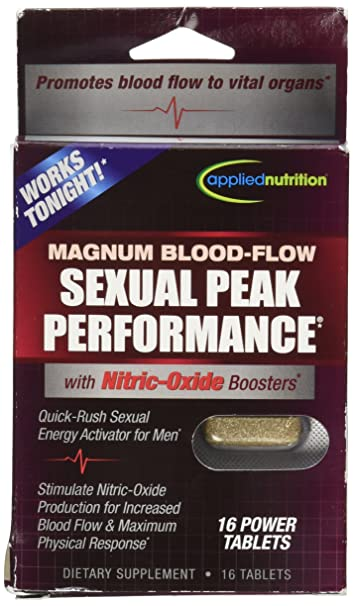 Applied Nutrition Sexual Peak Performance