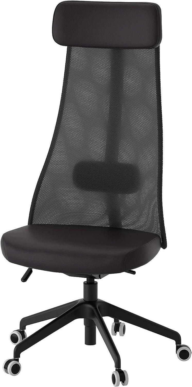 IKEA 503.635.50 Järvfjället - Silla giratoria, Color Negro: Amazon ...