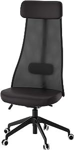 IKEA Järvfjället Swivel Chair, Glose Black