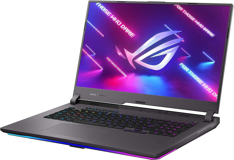 "ASUS ROG Strix G17 (2021) Gaming Laptop, 17.3"" 300Hz IPS Type FHD, NVIDIA GeForce RTX 3070, AMD Ryzen 9 5900HX, 16GB DDR4, 1TB PCIe NVMe SSD, RGB Keyboard, Windows 10, G713QR-ES96"