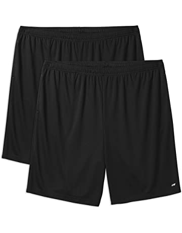 74be53805710 Amazon Essentials Men's Big & Tall 2-Pack Performance Shorts fit ...