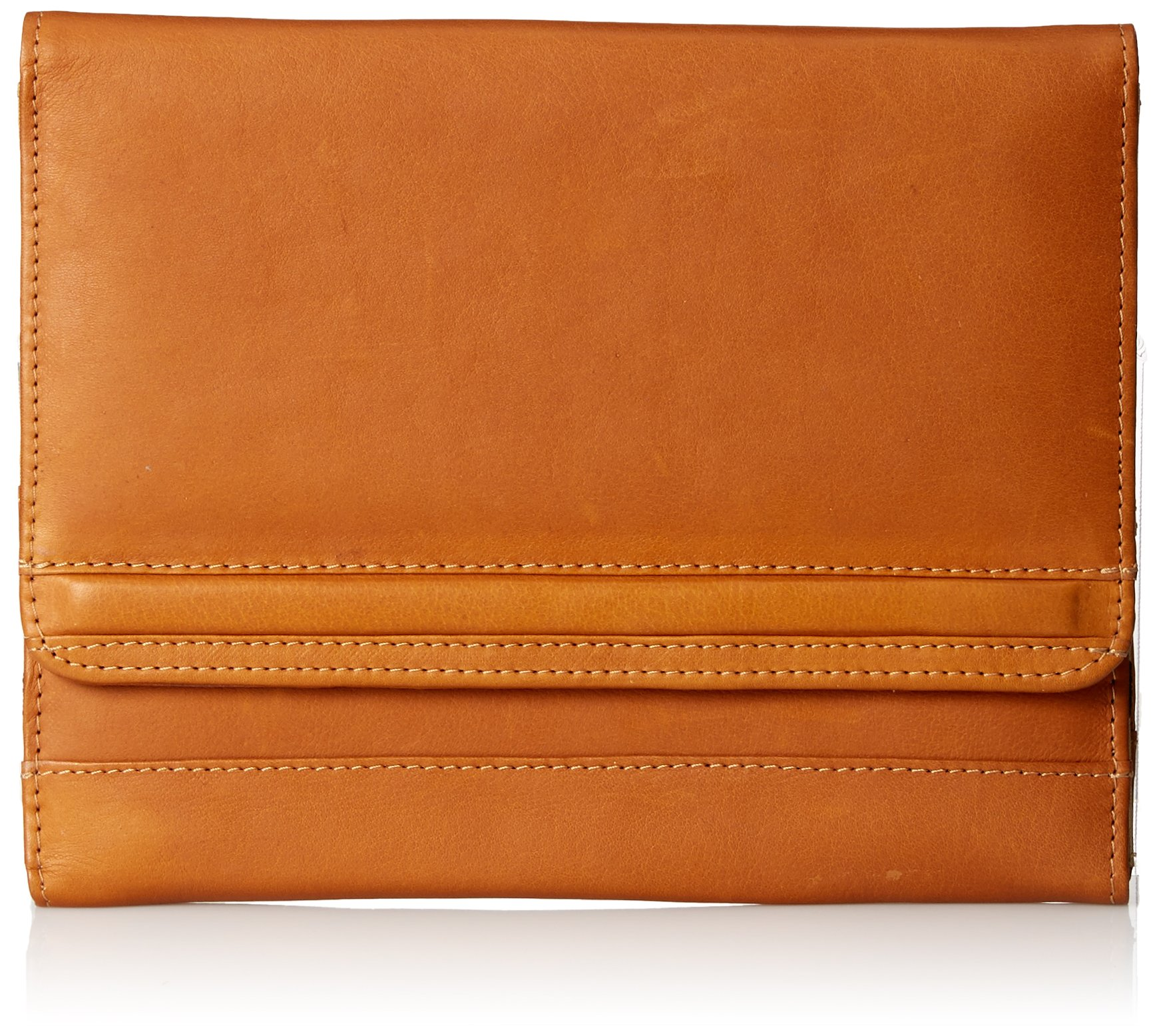 Piel Leather iPad Air Envelope Case Stand, Saddle, One Size by Piel Leather