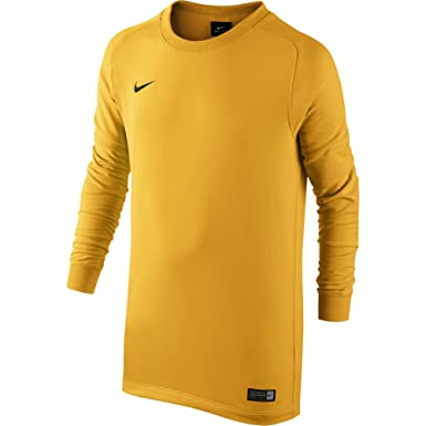 8f54a3741 ... Nike Long Sleeve Park Goalie II Jersey YELLOW Yellow size - YS ...