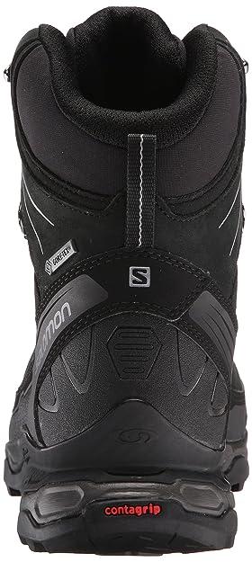 Salomon X Ultra Trek GTX, Botas de Senderismo para Hombre, Negro Black/Autobahn 000, 44 2/3 EU: Amazon.es: Zapatos y complementos