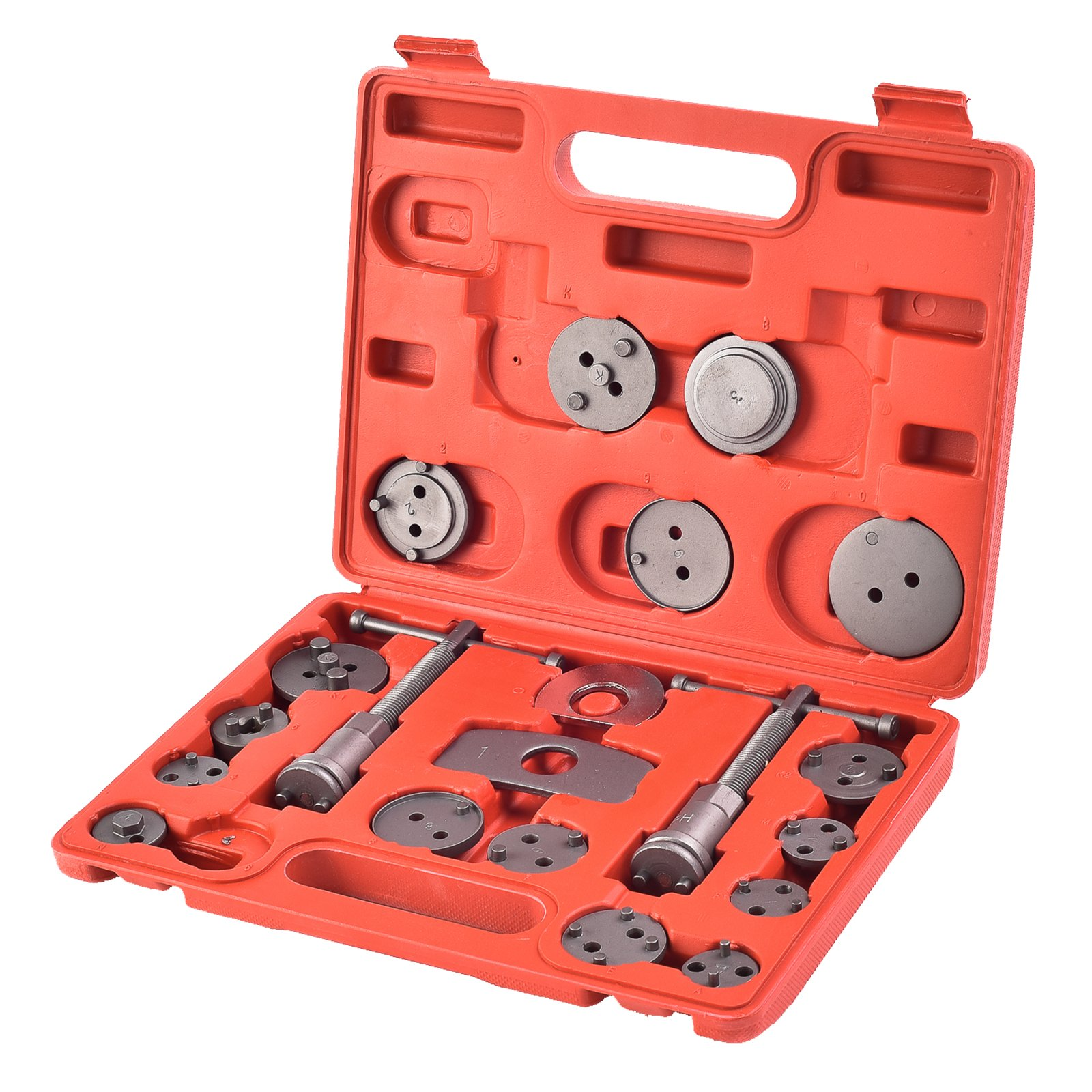 SUNCOO Disc Brake Caliper bolt assemblies Tool Kit Set Wind Back for 4 wheel drive cars/trucks 21 pcs