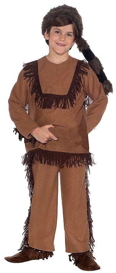 Forum Novelties Davy Crockett Childs Costume, Large