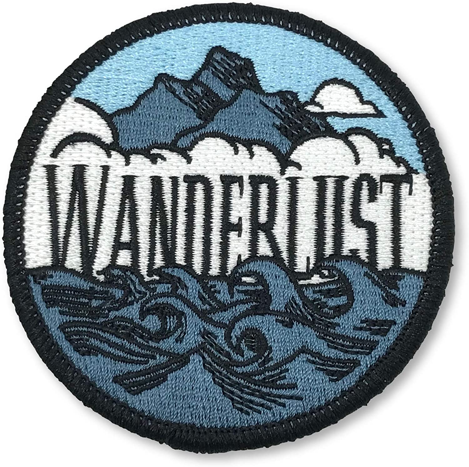 Cute Small Camping Adventure Iron on Embroidered Applique Patches