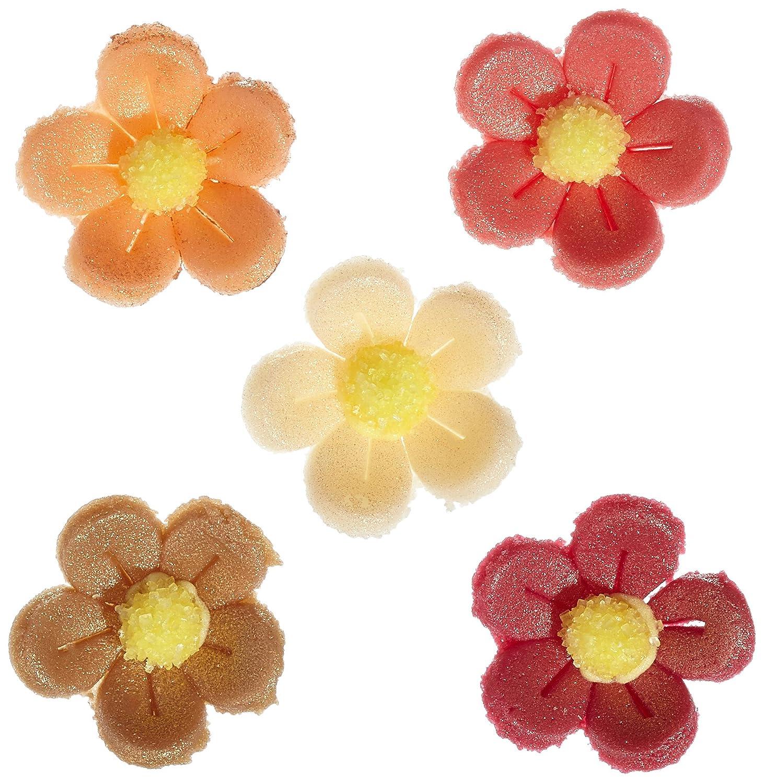 bunt G/ünthart 120 Blumen aus Feinzucker