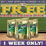 Transition Nutrition 16 oz Spirulina Powder