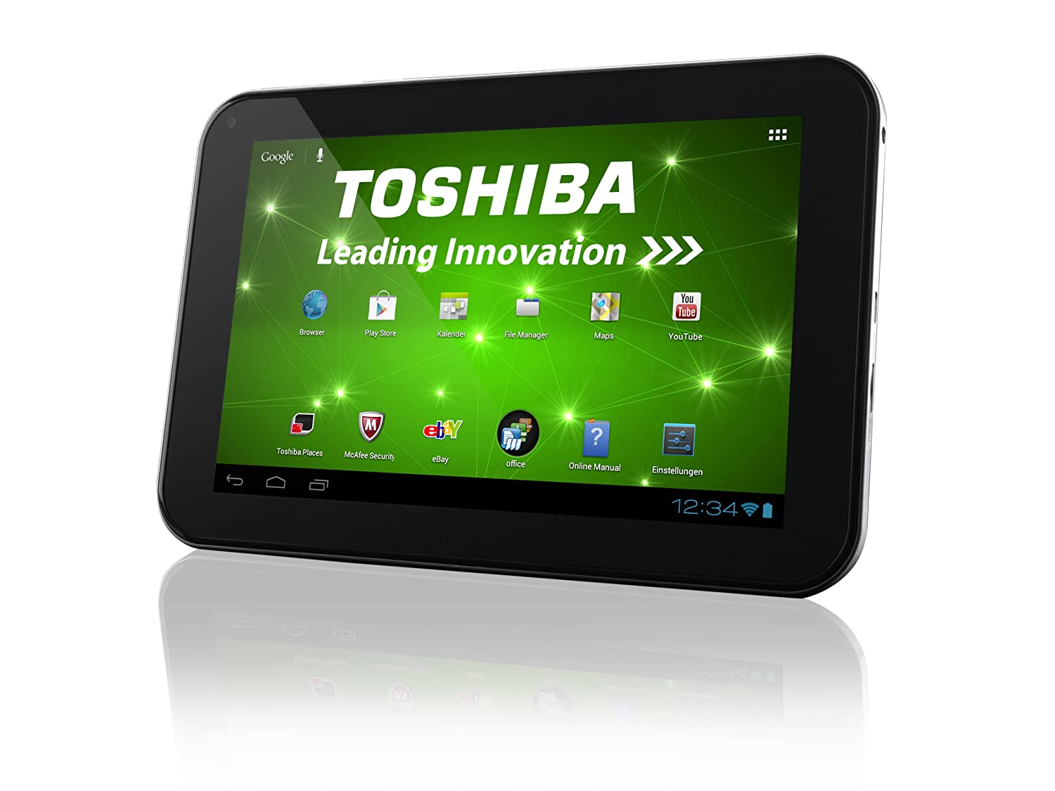 Toshiba AT270-101 32GB Plata - Tablet (Android, Pizarra, Android, Plata, Polímero de litio, 802.11b, 802.11g, 802.11n): Amazon.es: Informática