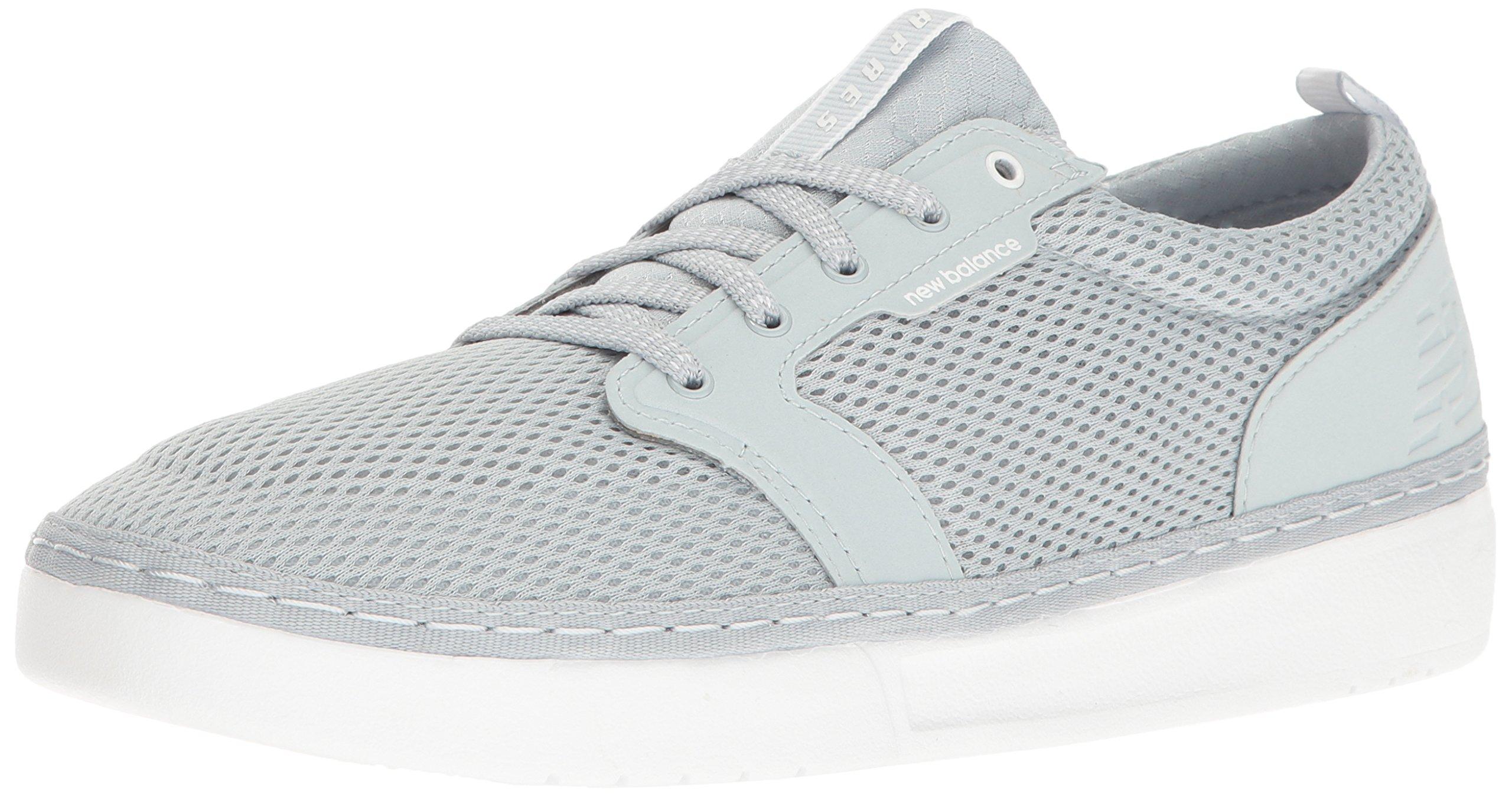 New Balance Men's Apres Lacrosse Shoe, Grey/White, 10 D US by New Balance